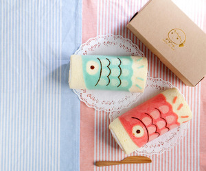 japan, dessert, and fish image