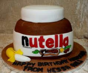 nutella and cake image