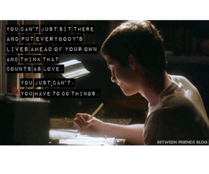 perks of being a wallflower, quote, and logan lerman image