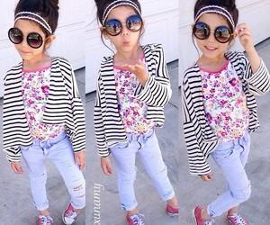 fashion, baby, and girl image
