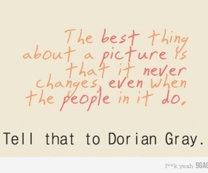 change, dorian gray, and picture image