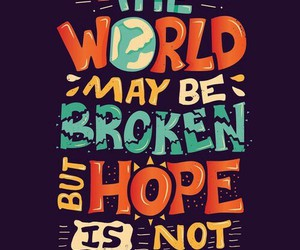 quotes, john green, and hope image