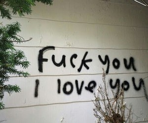 fuck and love image