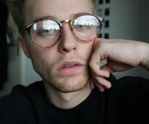boy, glasses, and beautiful image