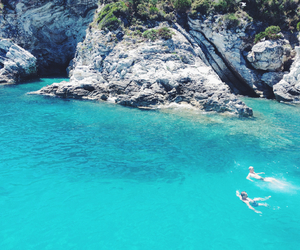 blue, corfu, and Greece image