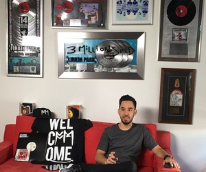 cd, linkin park, and mike shinoda image