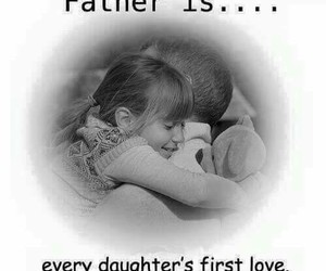 father, love, and daughter image