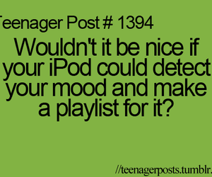 ipod, mood, and music image