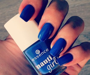 blue, essence, and nails image