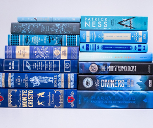 blue and books image