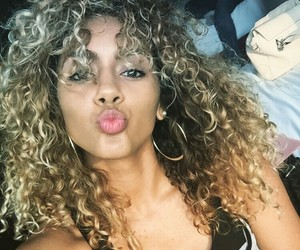 beauty and curls image