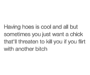 bitches, hoes, and quotes image