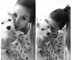 zoella, dog, and puppy image