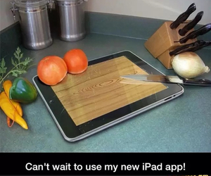 funny and ipad image