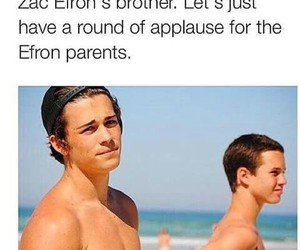 brothers, zac efron, and Hot image