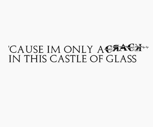 castle, fonts, and glass image