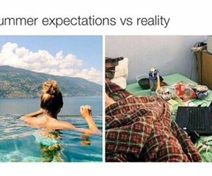summer, beach, and lol image