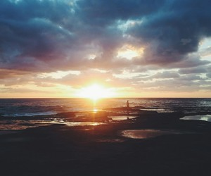 australia, sunrise, and spectacular view image
