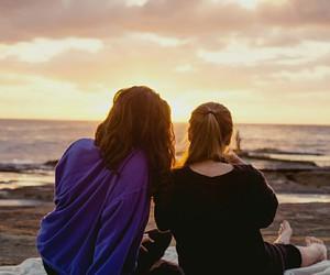 australia, sunrise, and friendship goals image