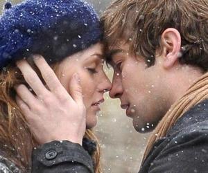 love, gossip girl, and kiss image