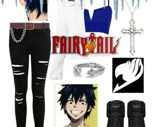anime, fashion, and fairy tail image