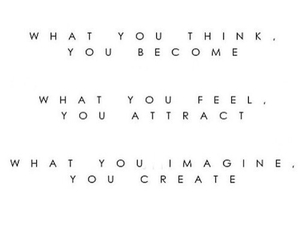quote, imagine, and feel image
