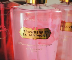 Victoria's Secret, pink, and champagne image