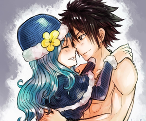 gruvia, fairy tail, and anime image