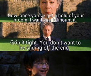 harry potter, funny, and that's what she said image