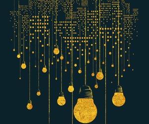 light, city, and art image