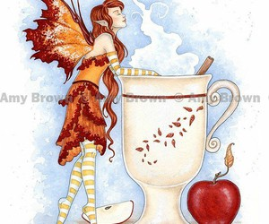 beautiful, fairy, and amy brown image