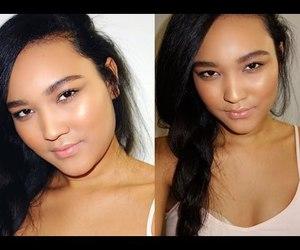 makeup, summer, and kalei lagunero image