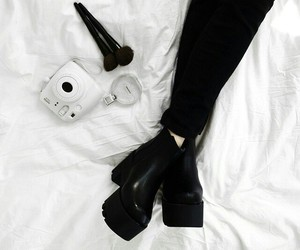 accessories, black, and shoes image