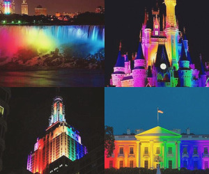 america, bright, and buildings image