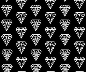 diamonds, paradise, and wallpaper image