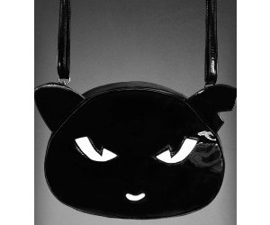 accessories, black cat, and bag image