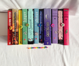 book lovers, rainbow, and books image