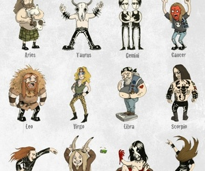 zodiac and metal zodiac image