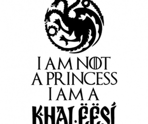 game of thrones, khaleesi, and got image