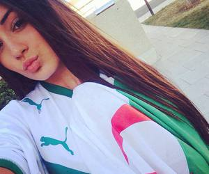 <3, Algeria, and long hair image