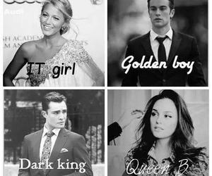 gossip girl, blair waldorf, and chuck and blair image