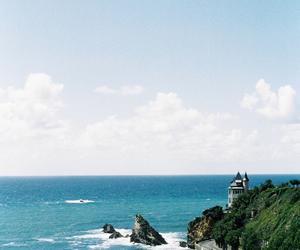 sea, sky, and summer image