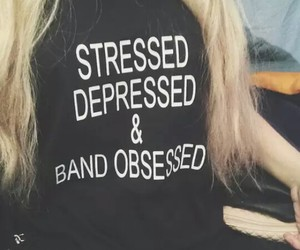 bands, grunge, and stressed image