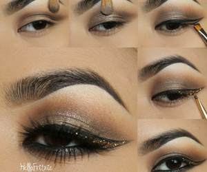beautiful, eye, and eyeliner image