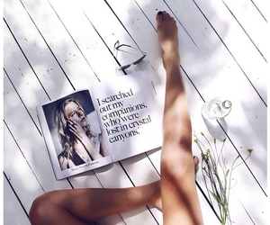 legs, magazine, and indie image