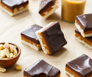 chocolate, food, and caramel image