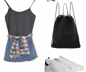 outfits, Polyvore, and shoes image