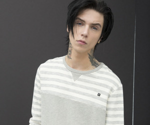 boy, perfect, and piercing image