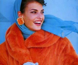 90s, colors, and linda evangelista image