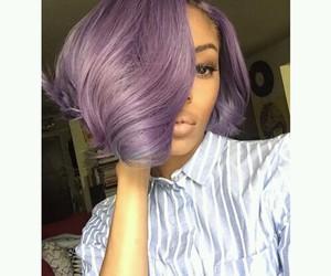 bob, lavender, and short image